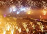 New Year's Fireworks at Palm Jumeirah