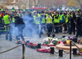 Protesters clash with French police in Paris (AFP)