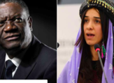 Mukwege (L), Murad get Nobel award for fighting against sexual violence
