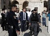 الحاخام المتطرف يهودا غليك يقتحم المسجد الأقصى