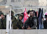 A group of settlers attacked a boys' school in the Palestinian village of Ourif. (AFP/File)