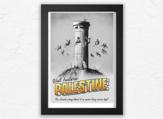 The recent poster of Banksy. (Instagram)