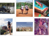 """Some of the photos shared on """"Rich Kids of Tehran"""" Instagram account for Iranian privileged youth. (Instagram/therichkidsoftehran)"""