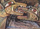 A piece by Egyptian artist Samir Rafi. Green Art Gallery. (Supplied)