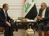 Caretaker Foreign Minister Gebran Bassil and Iraqi Prime Minister Adel Abdel-Mahdi. (Twitter/@Gebran_Bassil)