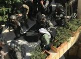 قوة عسكرية اسرائيلية تقتحم مقر محافظة القدس في ضاحية البريد ببلدة الرام