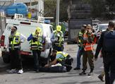 A shooting attack by a Palestinian at an industrial zone for a West Bank settlement on Sunday killed two Israelis and wounded another, the army said. (Jack GUEZ / AFP)