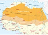 The five Sahel states are Mauritania, Burkina Faso, Chad, Mali and Niger. (Shutterstock)