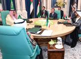 Saudi King Salman and Jordan's King Abdullah (r) attend Mecca Summit, June 11, 2018. (AFP/ Photo Yousef Allan)