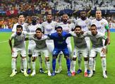 فريق العين الإماراتي قبل خوضه مباراة الدور الثاني من كأس العالم للأندية 2018 أمام الترجي التونسي بطل إفريقيا