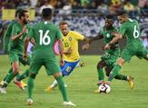 Brazil ran out easy 2-0 winners in an entertaining friendly against Saudi Arabia - Neymar and Gabriel Jesus catching the eye in Riyadh.