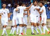 Egypt's defender Ahmed Hegazi celebrates with his teammates after scoring the first goal against eSwatini (Photo: EFA official Facebook page)