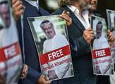 Protesters gather in Istanbul to demand the whereabouts of Jamal Khashoggi (AFP/OZAN KOSE)