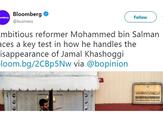 Bloomberg's Twitter