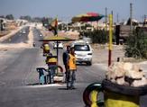 حاجز للقوات الكردية في شمال سوريا/ أرشيفية
