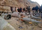 ضبط مستودع لأسلحة وصواريخ دفاع جوي (أرض جو) قرب الحدود السورية مع الاردن