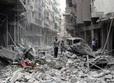 Syria's bitter civil war has claimed the lives of more than 250,000 people since the start of the conflict in March 2011 (AFP Photo/Mohammed Eyad)