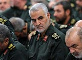 """قائد """"فيلق القدس"""" التابع للحرس الثوري الإيراني، قاسم سليماني"""