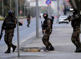 Turkish special forces take position near the police headquarters in Istanbul. (AFP/File)