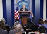 US National Security Advisor John Bolton speaks during a briefing in the Brady Briefing Room of the White House in Washington, DC on October 3, 2018. (Mandel NGAN / AFP)