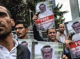 Protest against Jamal Khashoggi disappearance (Twitter)