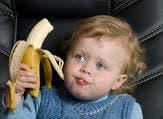 يُعالج الموز الأطفال الّذين يُعانون من ضعف البنية