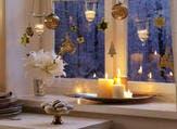 النوافذ في عيد الكريسماس