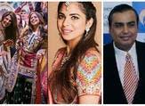 """زفاف """"أسطوري"""" لابنة ملياردير هندي"""