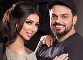 المنتج محمد الترك وزوجته الفنّانة دنيا بطمة