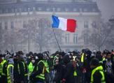 اندلعت الاحتجاجات في نوفمبر بسبب الضغط على ميزانيات الأسر بضرائب الوقود