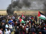 """انطلقت مسيرات العودة في قطاع غزة يوم 30 آذار/ مارس الماضي، تزامنا مع ذكرى """"يوم الأرض"""""""