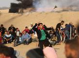 مسيرات في المنطقة الحدودية الشرقية لقطاع غزة