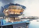 دبي تفتتح أحد أعلى أحواض السباحة بالعالم  هذا العام