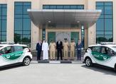 شرطة دبي تضيف سيارة كهربائية إلى أسطولها