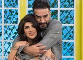 غدير السبتي وزوجها أحمد الفردان