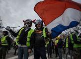 """حركة """"السترات الصفراء"""" تدعو لمواصلة الاحتجاجات والمظاهرات يوم السبت المقبل"""