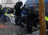 """مواجهات بين الأمن الفرنسي ومتظاهري """"السترات الصفراء"""""""