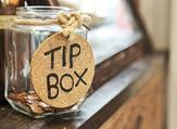 Service workers now receive small or no tips at all from customers. (Shutterstock)