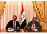 Qasim Al-Fahdawi, Minister of Electricity, and Joe Kaeser, president and CEO of Siemens AG. (Trade Arabia)