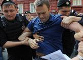"""نافالني أودع السجن بتهمة """"تنظيم احتجاج غير قانوني"""""""