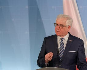 Press conference with the Minister for Foreign Affairs from Poland, Jacek Czaputowicz in Berlin. (Shutterstock/ File Photo)
