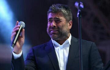 Lebanese star Wael Kffouri was accused by his ex wife's daughter lawyer of not spending on his two daughters Source waelkfouryradio Instagram
