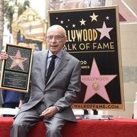 Alan Arkin is honored with a star on the Hollywood Walk of Fame on June 7, 2019 in Hollywood, California. (Vivien Killilea/Getty Images for Netflix/AFP)