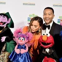 John Legend and Chrissy Teigen attend the Sesame Workshop's 50th Anniversary Benefit Gala at Cipriani Wall Street on May 29, 2019 in New York City. (Theo Wargo/Getty Images/AFP)