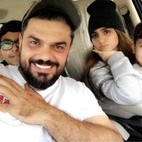 Mohammed Turkhis eldest daughterHalaand her two brothers appeared in new pictures Source alturkproductions Instagram