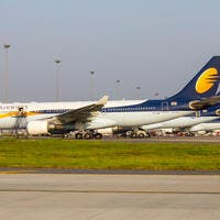 Left with no cash to continue flying, the once-mighty Jet Airways on Wednesday suspended operations temporarily.