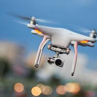 The warning against Chinese drones comes amid a US crackdown on Chinese telecoms giant Huawei.