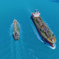 The area is near the Strait of Hormuz, a strategic waterway through which nearly one-third of all oil traded by sea passes.
