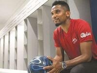 Cameroon legend Samuel Eto'o is an official ambassador for the Supreme Committee for Delivery & Legacy.