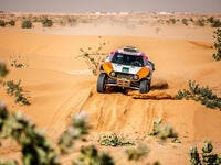 Yasir Seaidan in action at the recent Riyadh Rally. (Photo/Supplied)
